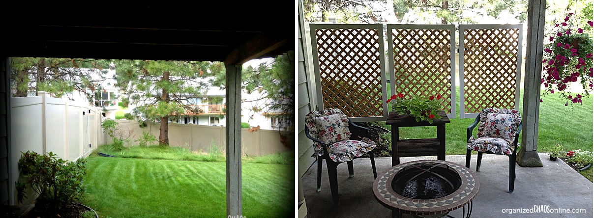 Outdoor Areas With Privacy Screens, Outdoor Panels For Patio