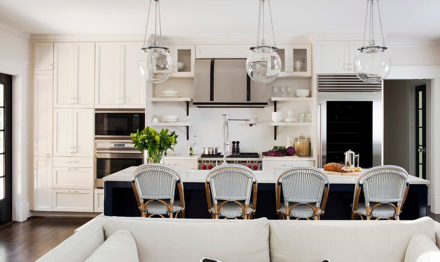 Black And White Bar Stools How To
